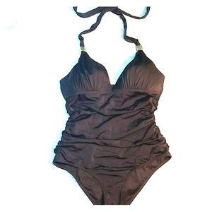 Victoria's Secret 1pc Padded Halter Swimsuit  Sz M